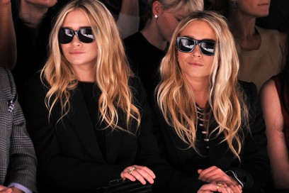 mary kate ashley olsen sfilata