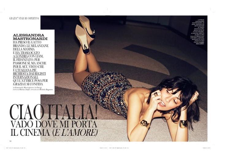 Alessandra Mastronardi: Ciao Italia! Vado dove mi porta il cinema (e l'amore)