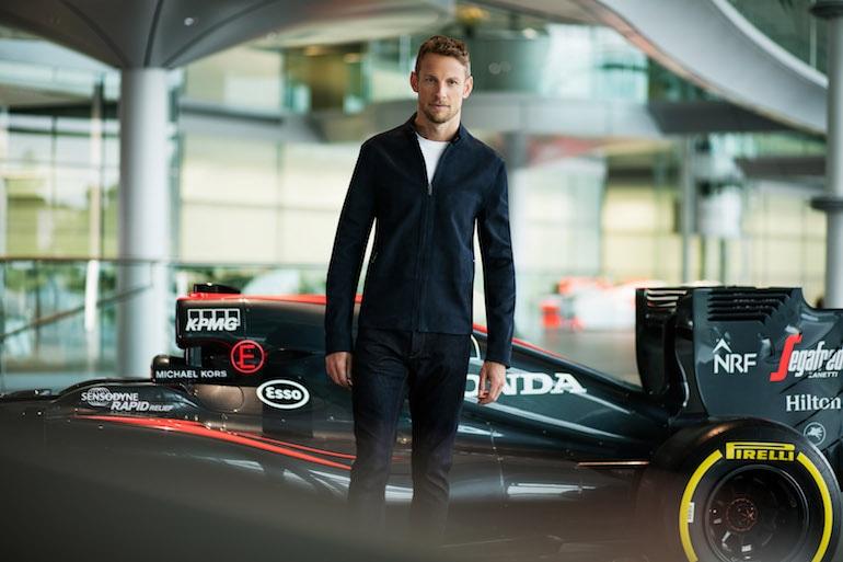 Michael Kors veste la McLaren-Honda