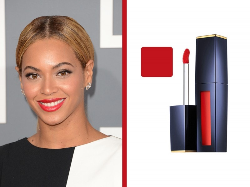 rossetto-arancione-a-chi-sta-bene-Beyonce-estee-lauder-pure-color-envy-liquid-lip-potion-cold-fire