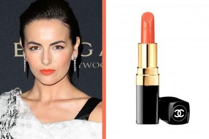 rossetto-arancione-a-chi-sta-bene-Camille-Belle-chanel-rouge-coco-sari-dore