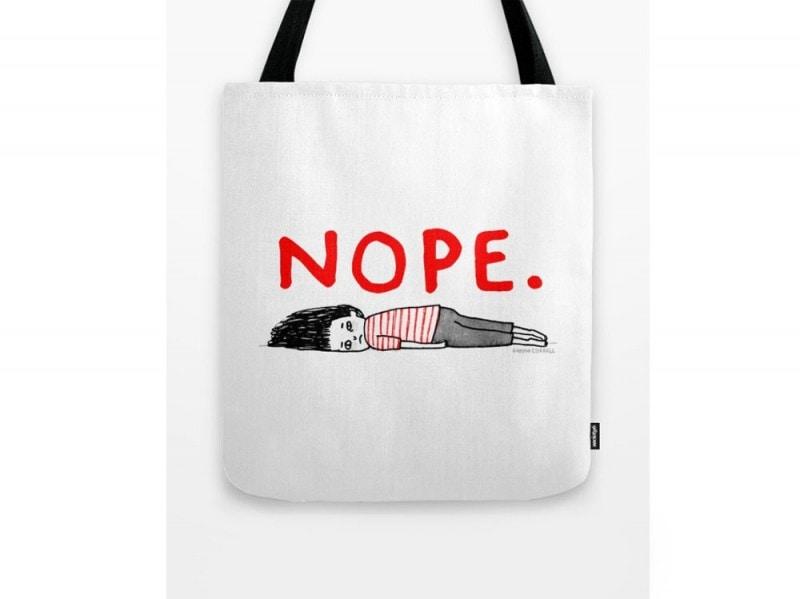 society6-shopper-nope