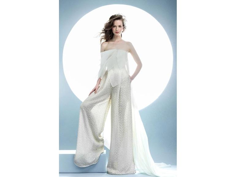 sposa pantaloni angel sanchez 2016 ss