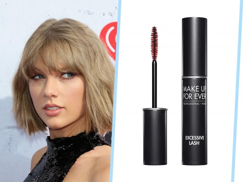 trucco occhi azzurri da giorno Taylor Swift
