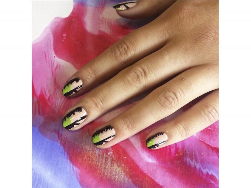 wah nails palme  nail art estate instagram