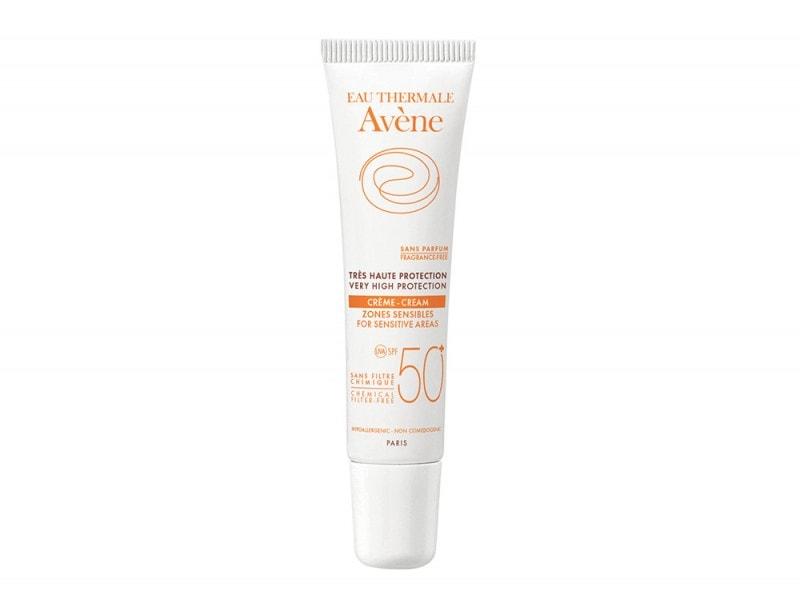 AVENE SOLARI Crema zone sensibili 50+