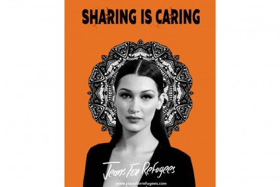 BELLA-HADID-jeans-for-refugees