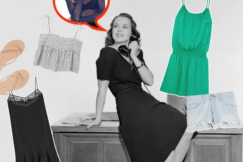10 cose da NON indossare in ufficio d'estate