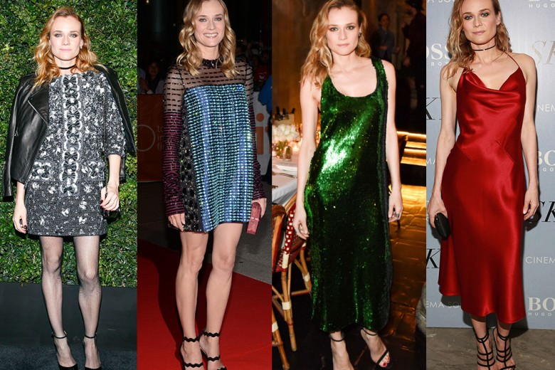 Diane Kruger e i suoi look da red carpet