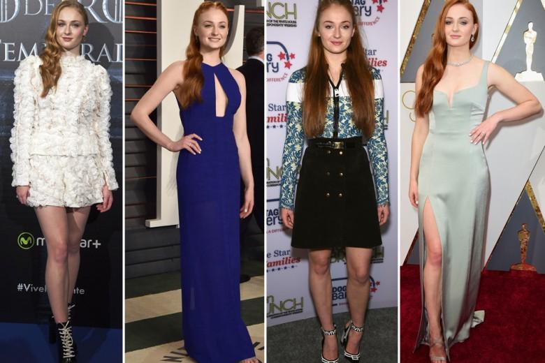 Sophie Turner: i look e lo stile di Sansa Stark