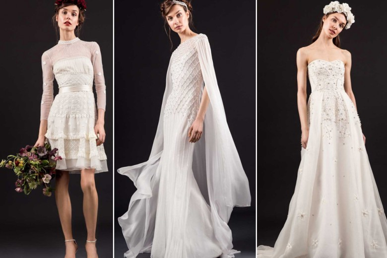 I nuovi abiti da sposa di Temperley London