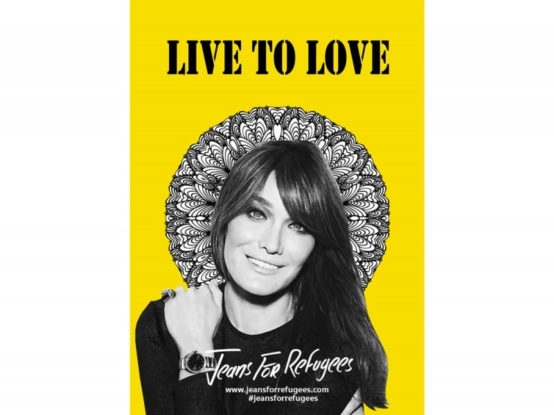 Carla-Bruni-jeans-for-refugees