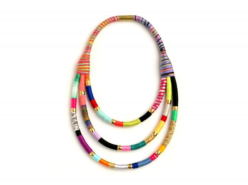 Collana tubolare Senegal