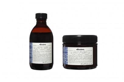 Davines Alchemic Shampoo and Conditioner in Silver