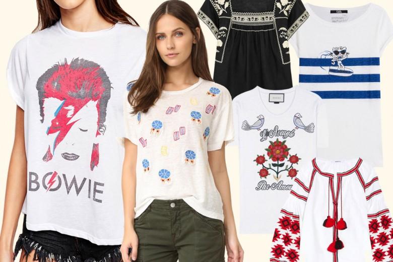 T-shirt in lino: il must-have dell'estate