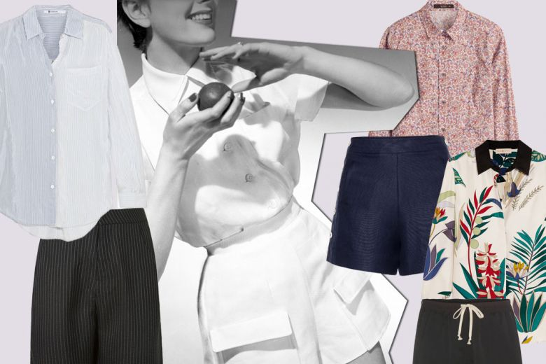 Come abbinare bermuda e camicie