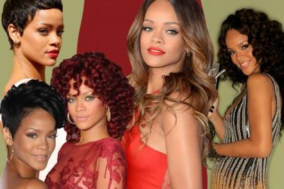Rihanna capelli: l'evoluzione dei suoi hair look