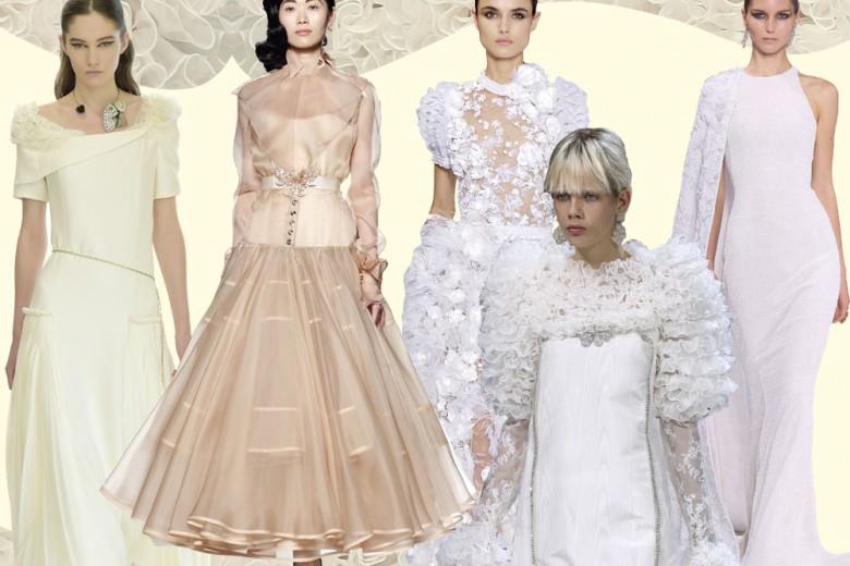 Gli abiti da sposa dalle sfilate Haute Couture AI 2016