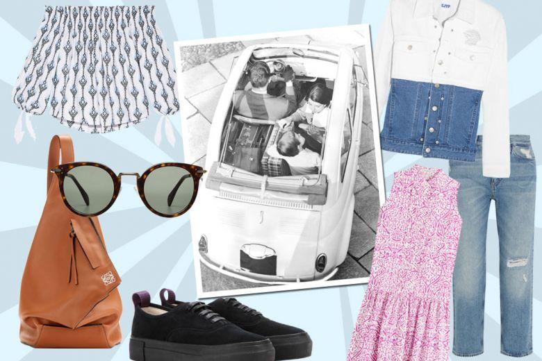 Vacanze on the road: i capi e gli accessori giusti