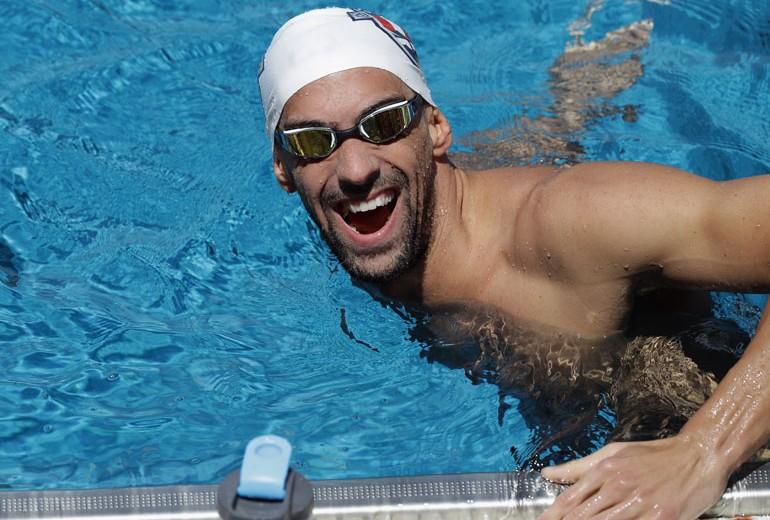 Michael Phelps: Voglio nuotare oltre la leggenda