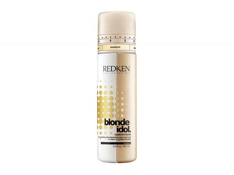Redken Blonde Idol Custom-Tone Conditioner Gold for Warm Blonders