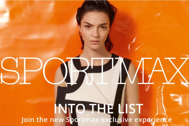 Sportmax presenta il progetto Into the List