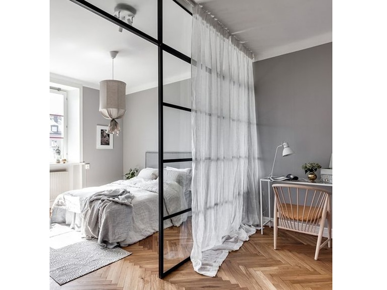 Camera da letto moderna 10 idee per non sbagliare - Tende camera da letto moderna ...