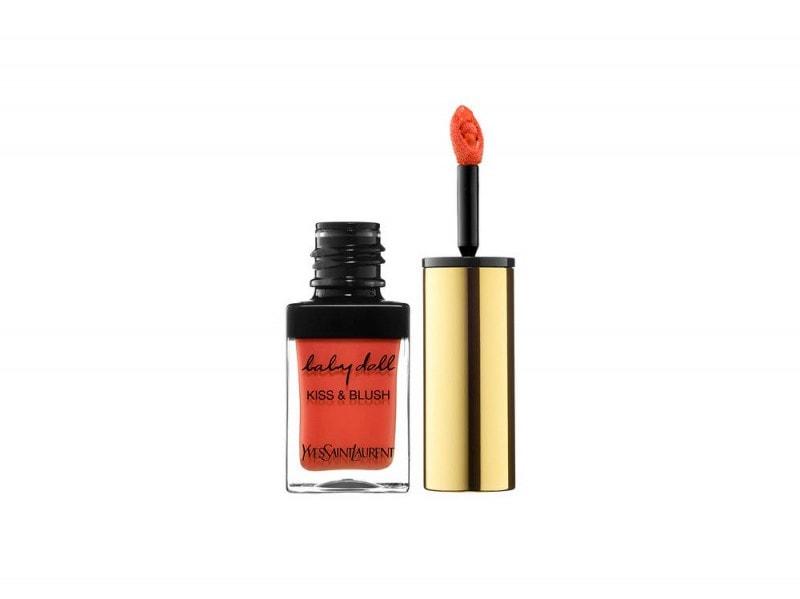 YSL Baby Doll Kiss & Blush N┬░4 Orange Fougueux