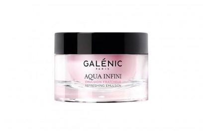 abbronzatura-viso-consigli-GALENIC-Aqua-Infini-Emulzione-idratante-effetto-freschezza