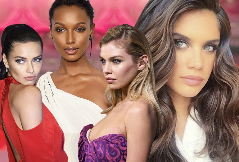 Beauty look estivi: copiamoli dagli Angeli di Victoria's Secret