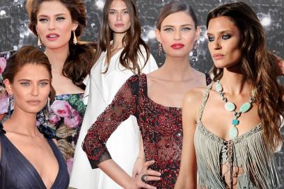 Bianca Balti trucco: dall'eyeliner nero al rossetto rosso