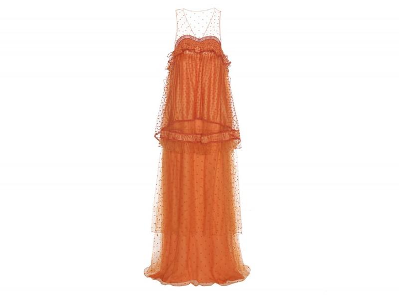 chloe abito arancione