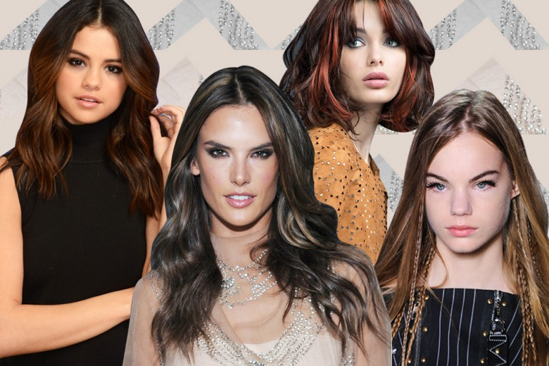 Come schiarire i capelli castani per un look glam