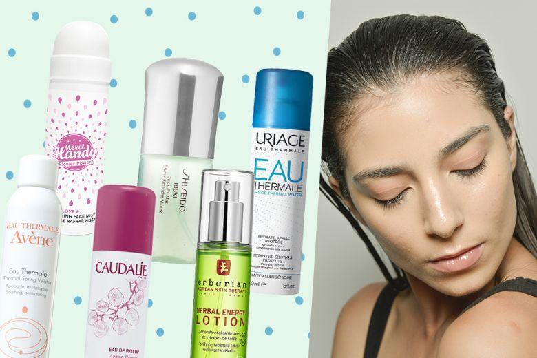 Acque spray per il viso: idratazione e freschezza