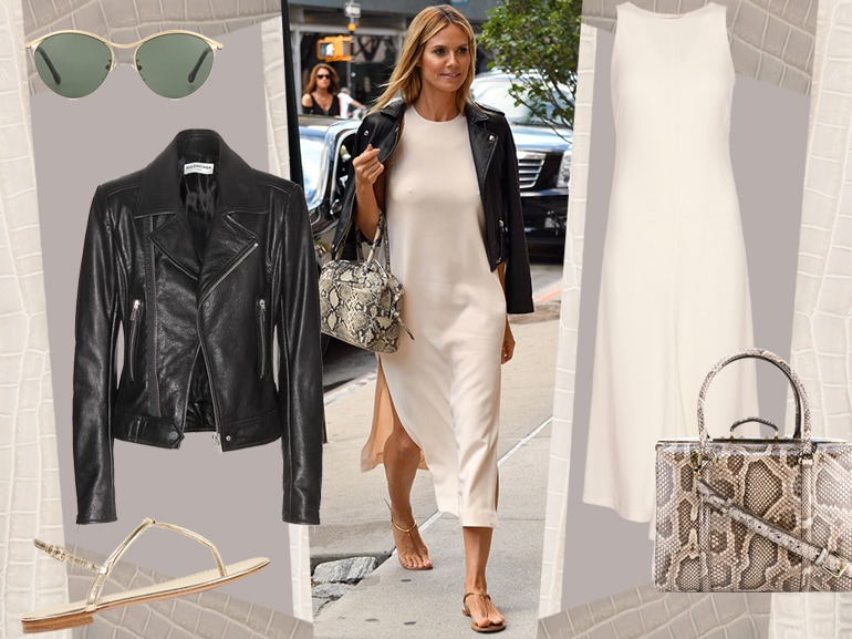 cover heidi klum in biker jacket e longdress mobile
