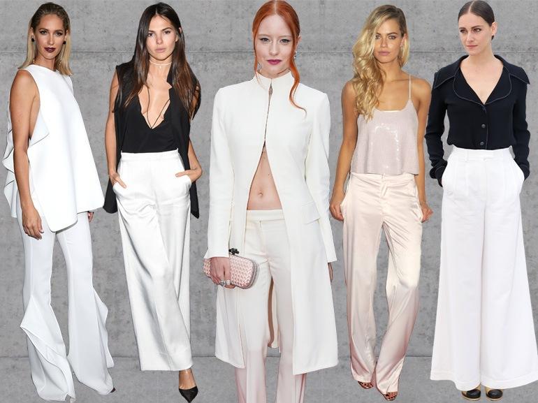 cover pantaloni bianchi ecco come li indossano le star mobile