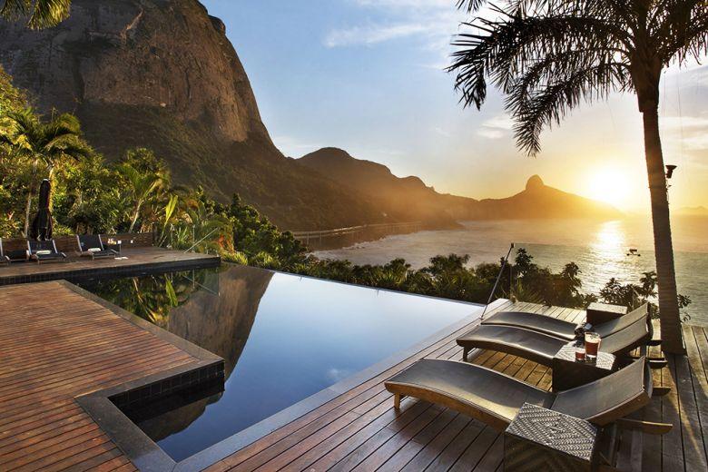 Una villa immersa nel verde a Rio De Janeiro