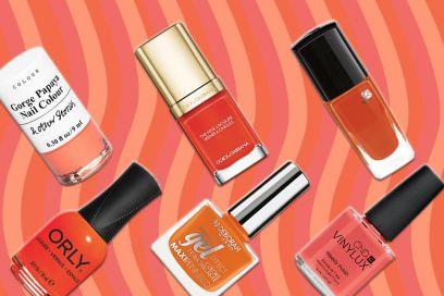 Smalto arancione: per una manicure vitaminica