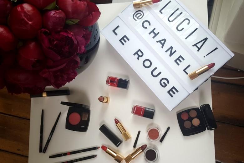 Chanel Le Rouge Collection N°1: la collezione trucco si tinge di rosso