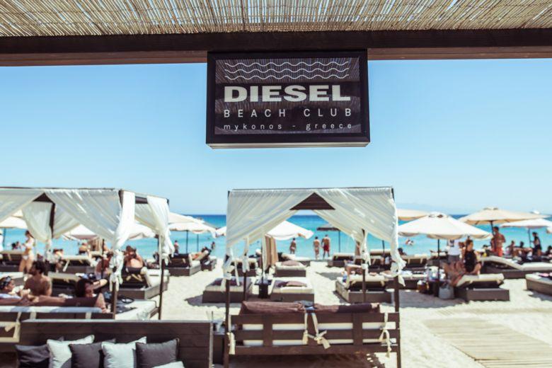 Diesel inaugura a Mykonos un beach club esclusivo