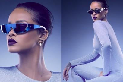 Rihanna disegna i nuovi occhiali da sole di Dior
