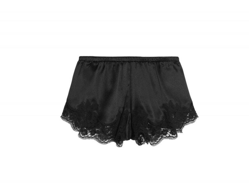 dolce-&-gabbana-shorts-seta-nera