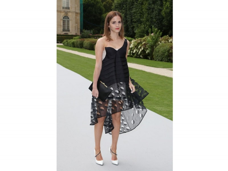 emma watson in dior couture