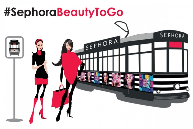 #SephoraBeautyToGo: il nuovo appuntamento di bellezza con Sephora