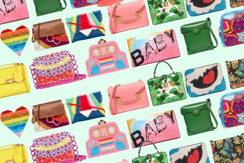 Borse colorate per l'estate: i modelli dalle tonalità più glamour