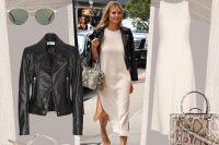 Heidi Klum e il look minimal chic, da copiare