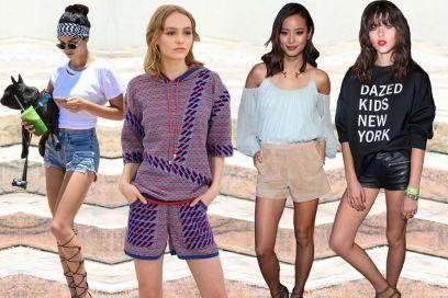 Shorts in estate: le star li indossano così