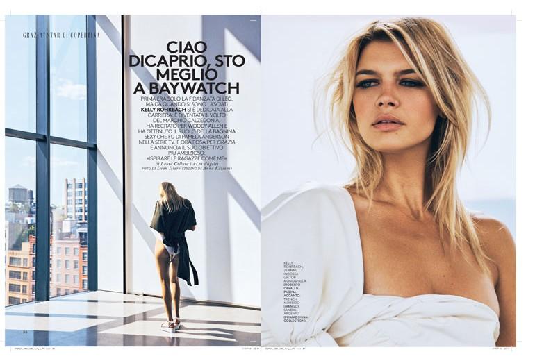 Kelly Rohrbach: Ciao DiCaprio, sto meglio a Baywatch