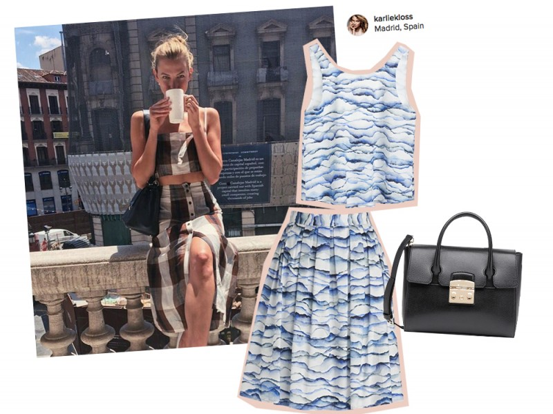 look-aperitivo-estate-karlie-kloss