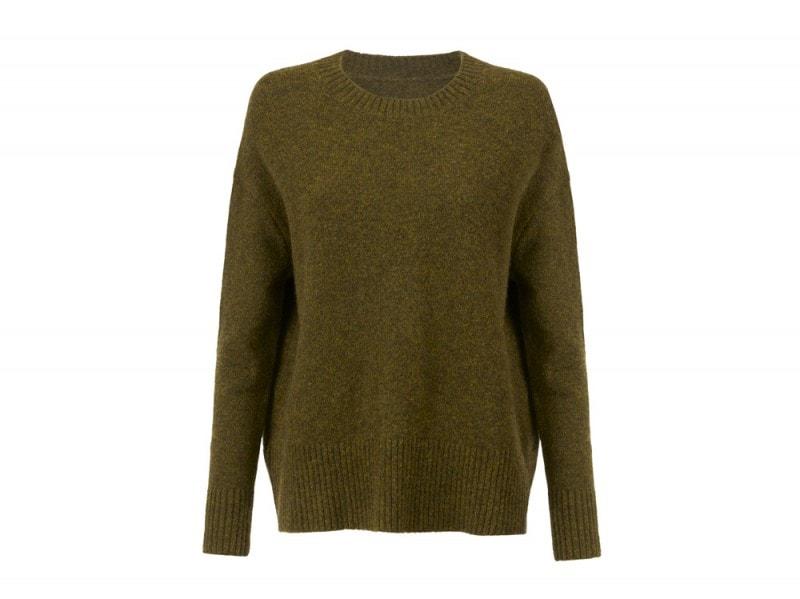 mango-maglione-verde